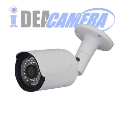 3Megapixels IR Bullet HD AHD Camera with 5MP 3.6mm Fixed Lens
