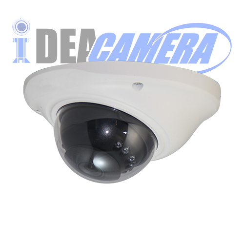 4Megapixles IR Dome HD AHD Camera with 5MP 3.6mm Fixed Lens