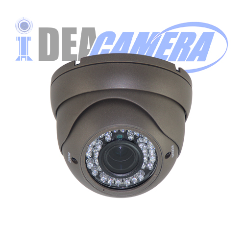 3Megapixels IR Dome HD AHD Camera with 5MP 2.8-12mm Lens