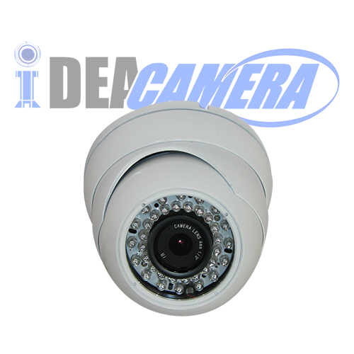 2MP 1080P IR Dome HD TVI Camera with 3MP Fixed Lens