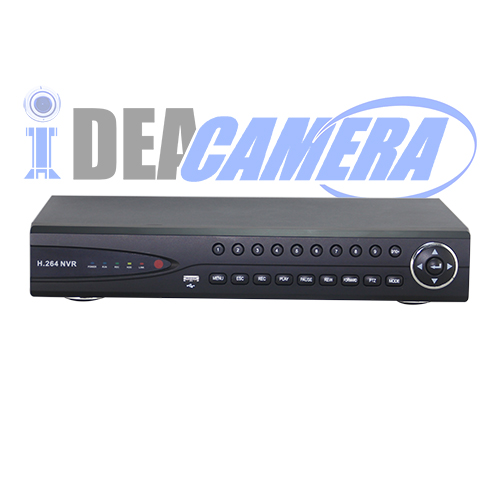 16CH H.264 HD Realtime recording 1080P NVR,8CH 1080P Playback