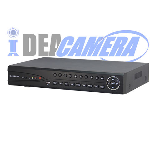 32CH H.265 Realtime recording HD 1080P NVR,16CH Playback
