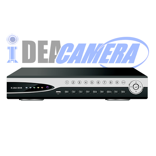 4CH HD 1080P NVR with 2 SATA HDD,4CH 1080p Playback.