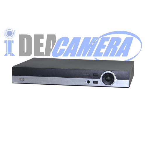 16CH 1080N 5IN1 Hybrid DVR with 2 SATA HDD,8CH Playback
