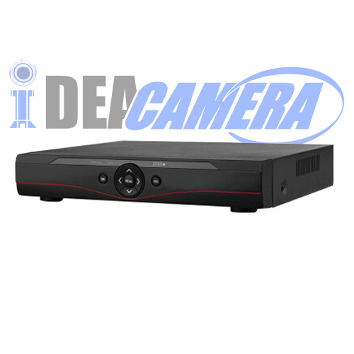 4CH 3MP 4MP HD 5IN1 Hybrid DVR with 1 SATA HDD,4CH Playback