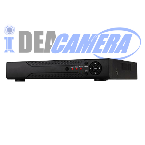 4CH 1080P HD 5IN1 Hybrid DVR with 1 SATA HDD,4CH Playback