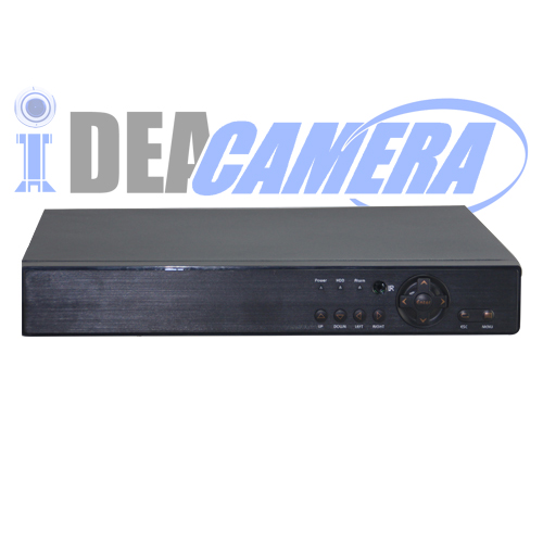 4CH 3MP 4MP 5IN1 Hybrid DVR with 1 SATA HDD,4CH Playback
