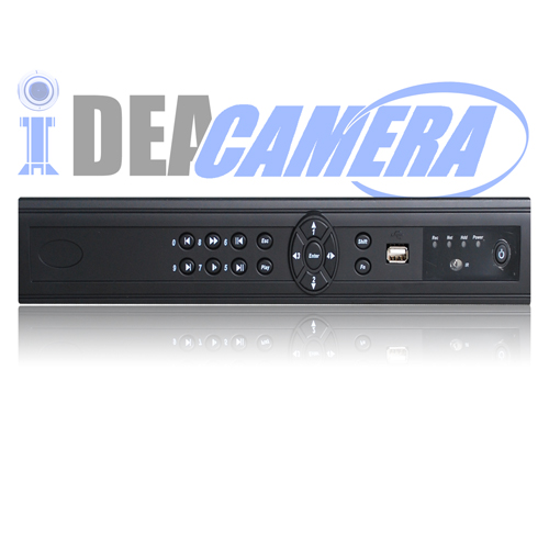 8CH 2SATA H.264 HD Professional NVR with 1CH Face Detection