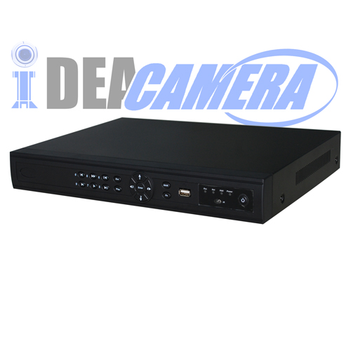 16CH 2SATA H.264 HD Professional NVR with 1CH Face Detection