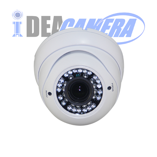 2MP IR Dome Varifocal AHD Camera with OSD Menu,4IN1 with UTC