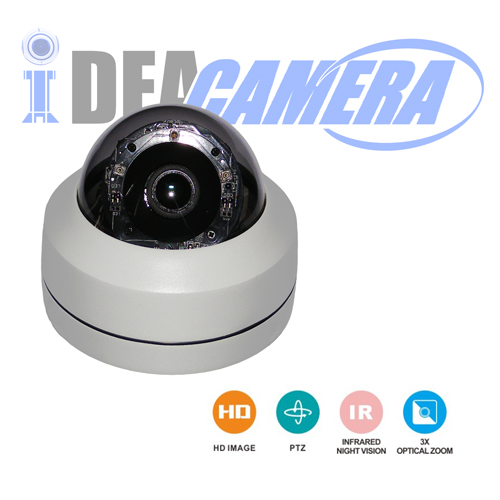 2.0MP 2.5inch IP HD IR MINI Meddle Speed Dome Camera with Audio Input