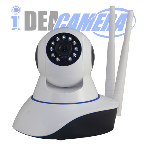 2MP Wireless Robot IP Camera,Yoosee Mibile App,Support 128G TF Card