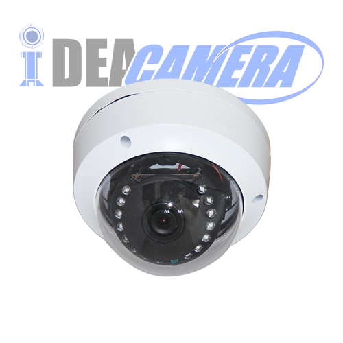 2MP IR Metal Dome H.265 IP Camera,POE Optional,VSS Mobile App
