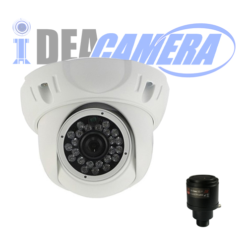 2MP Varifocal IP Camera with Audio Input,With POE,VSS Mobile App