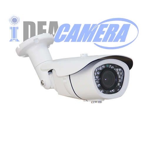4MP IR IP Camera with Audio Input,Internal POE,VSS Mobile App