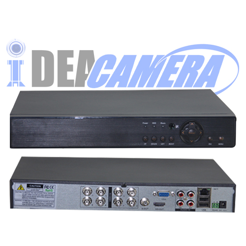 8CH 1080P 5IN1 Hybrid DVR with UTC Control,XMEYE Mobile App