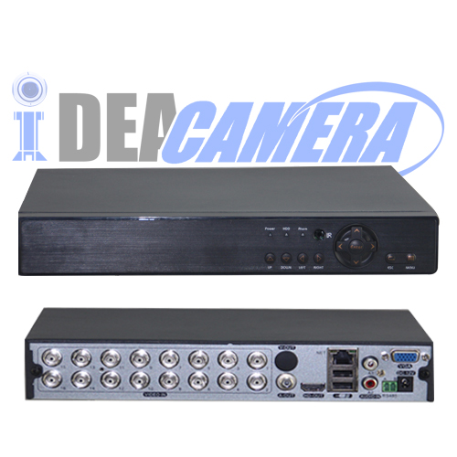 16CH 1080P 5IN1 Hybrid DVR with UTC Control,XMEYE Mobile App