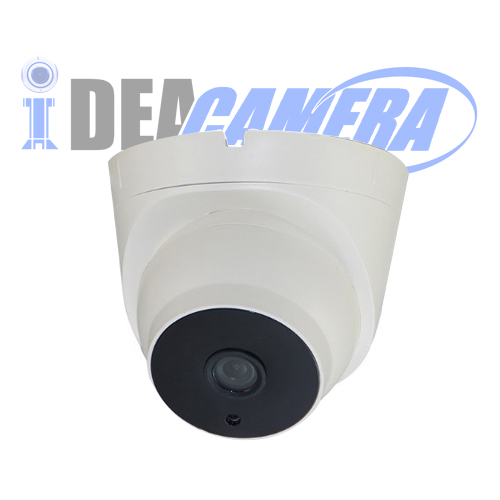 4MP IR Dome H.265 IP Camera with Audio Input, Internal POE, VSS Mobile APP