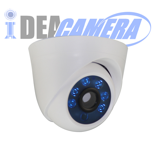 2MP Plastic IR Dome IP Camera,POE Optional,XMEYE Cloud App