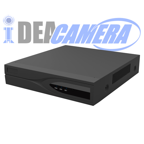 4CH H.265 NVR with 1ch Face Detection,VSS Mobile App,Support Max 8MP IPC