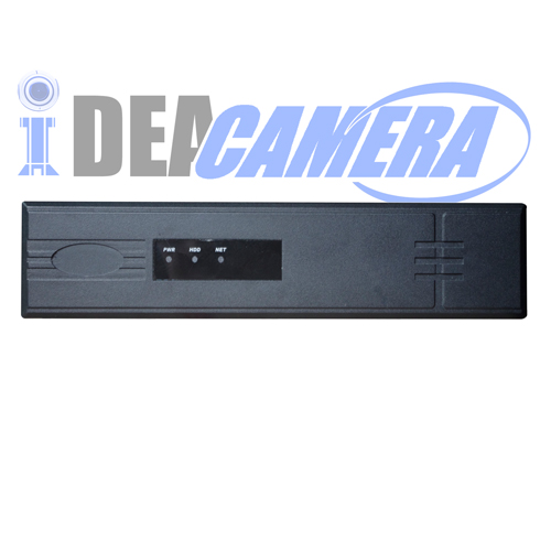 8CH H.264 NVR with 1CH Face Detection, Max 8ch Playback,8pcs POE Ports