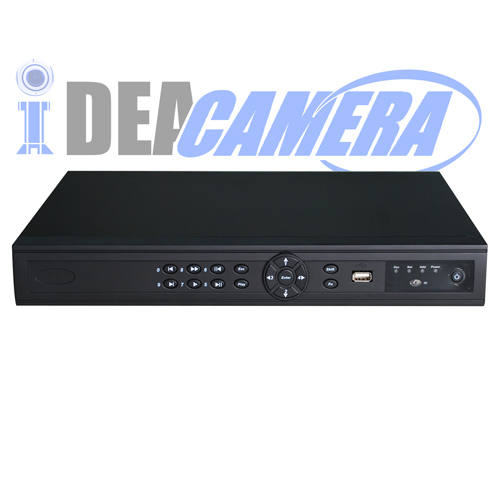 16CH 2SATA H.264 NVR,P2P,Support face detection,VSS Mobile App