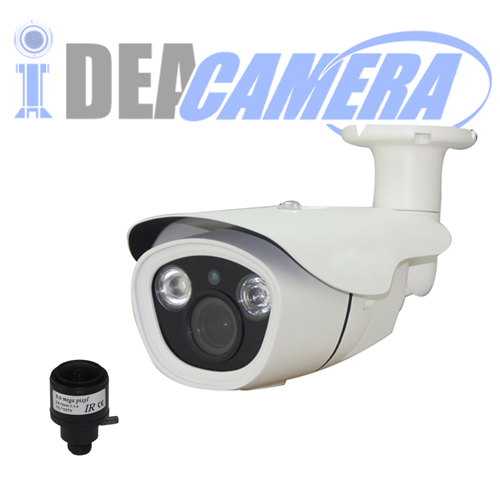 5MP H.265 IR Waterproof Bullet IP Camera, Internal POE (optional), ONVIF 2.6, P2P, Support Face Detection, VSS Mobile Cloud App