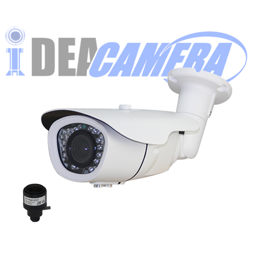 5MP H.265 IR Waterproof Bullet IP Camera, Internal POE (optional),Support Face Detection, ONVIF 2.6, P2P, VSS Mobile Cloud App