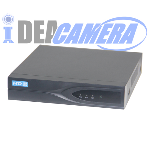 8CH 4MP HD 5IN1 Hybrid DVR with 1CH Face Detection,VSS Mobile App,P2P