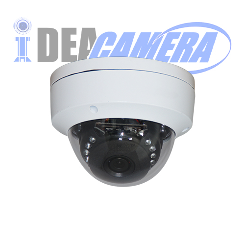 4K H.265 IP Dome Camera,VSS Mobile App,POE optional,Support face detection