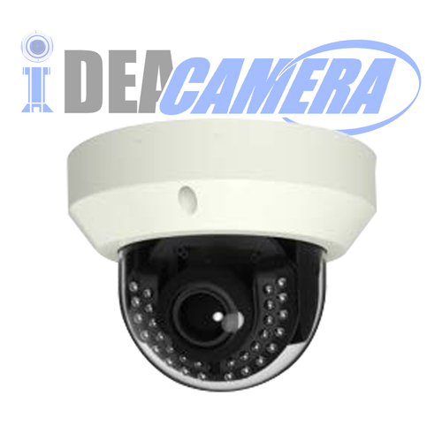 4K H.265 IP Dome Camera,3840*2160P Resolution,VSS Mobile App,Support face detection