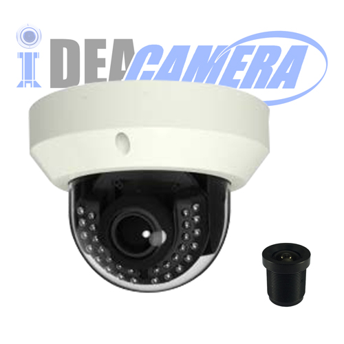 4K HD H.265 IR Dome IP Camera,VSS Mobile App,3840*2160Pixels,Support face detection
