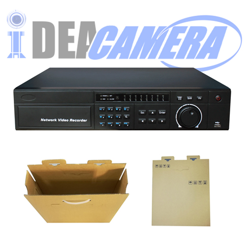 32CH 8SATA H.264 NVR,VSS Mobile App,16CH  realtime playback,Support 6MP IPC,P2P,Cloud storage
