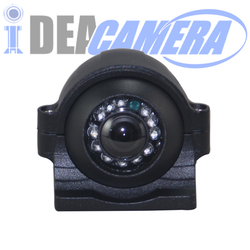 1.3MP HD Vehicle Infrared Panoramic Camera, 3MP 1.39mm Panoramic Lens, 360°Vertical View, 180°Horizontal View, IP66 Outdoor Use