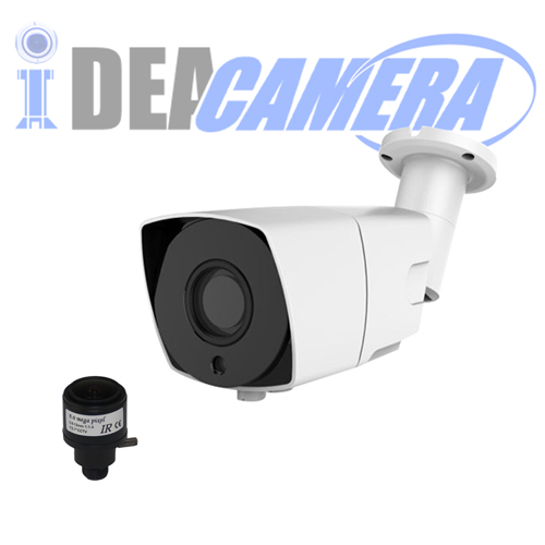 8MP IP Bullet Camera with Audio In,H.265 4K HD,Internal POE,Face detection,VSS Mobile APP